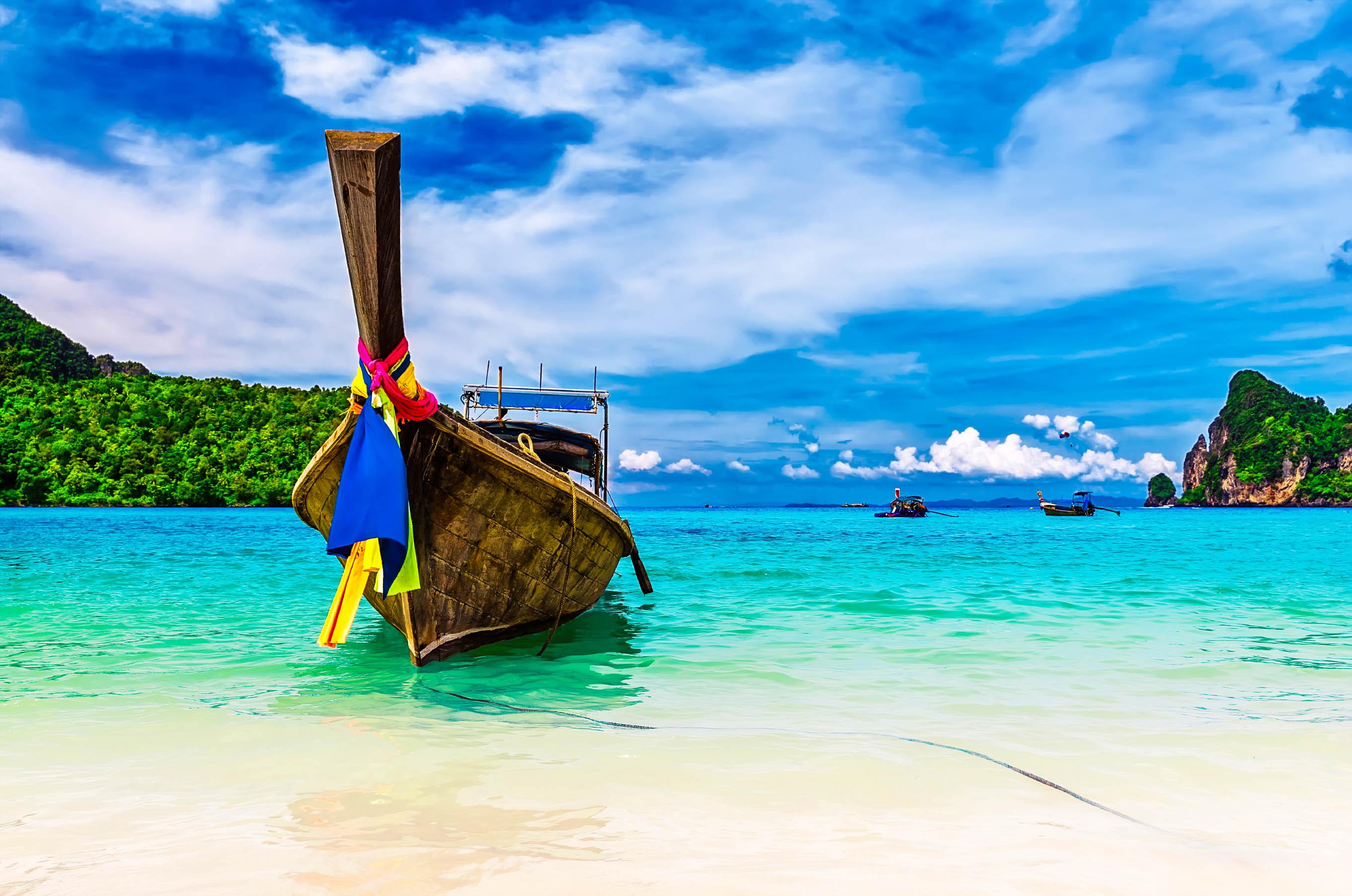 Tailandia cultural con playas
